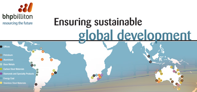 BHP Billiton - Ensuring sustainable global development