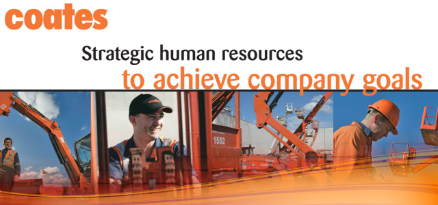 Coates - Strategic human resources to achieve company goals