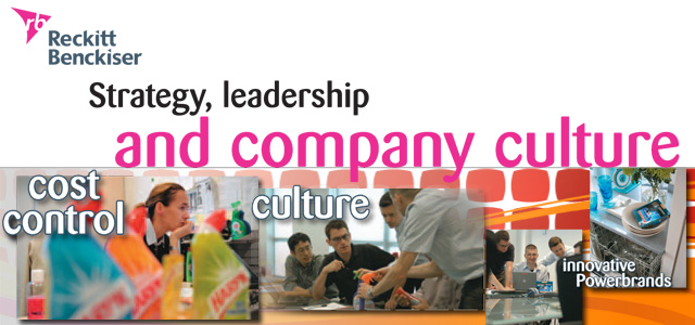 Reckitt Benckiser - Strategy, leadership and company culture