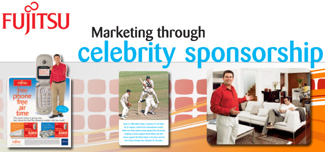 Fujitsu - marketing through celebrity sponsorship