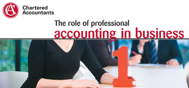 Chartered Accountants - the role of professional accounting in business
