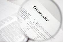 Glossary A - Z